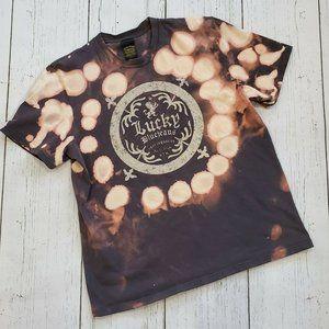 Lucky Brand Classic T-Shirt Bleached Women L
